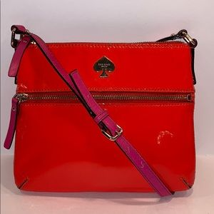KATE SPADE patent leather small crossbody bag
